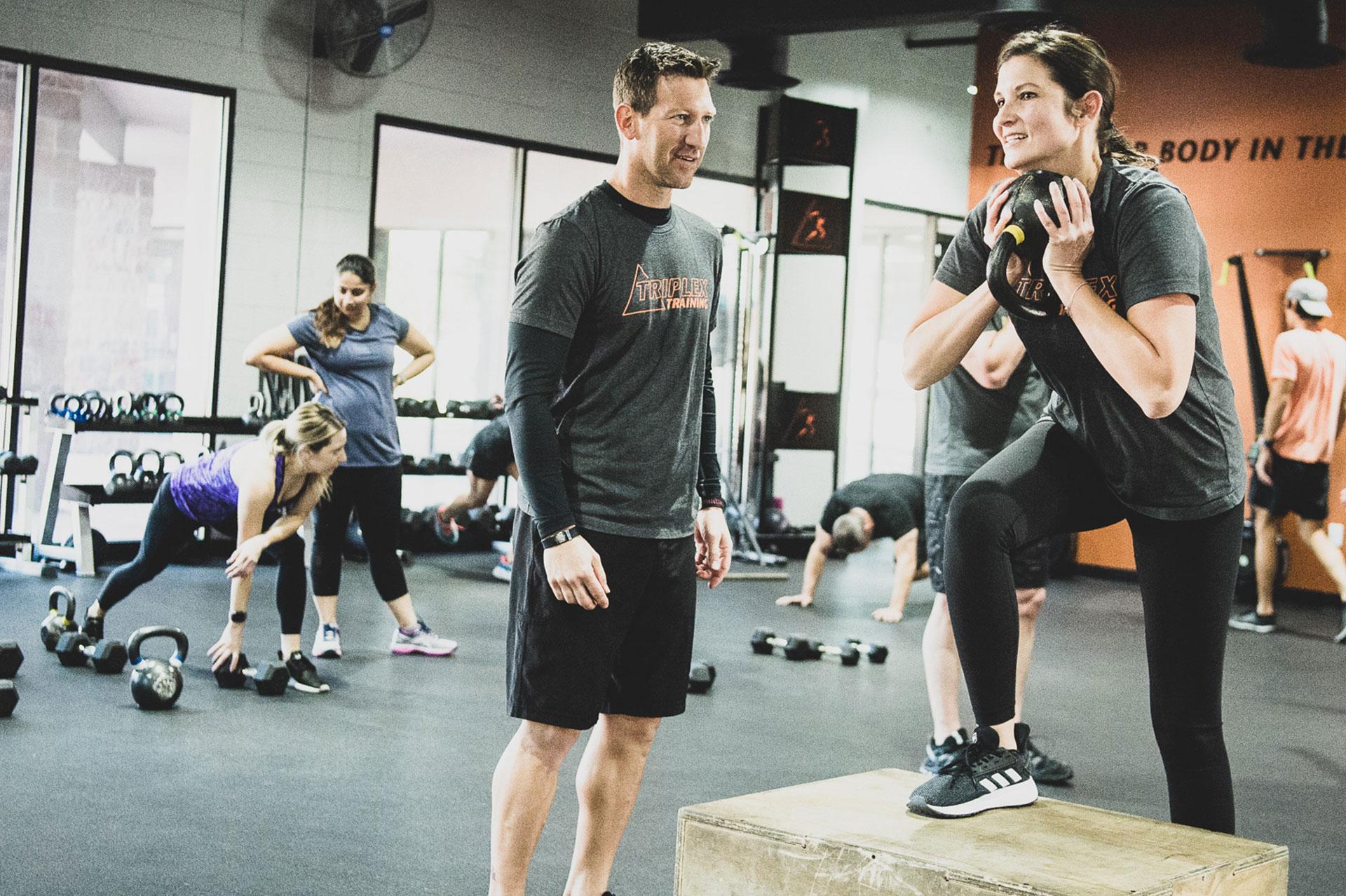 Triplex Training Personal Training Training Program